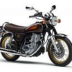 SR400 40th Anniversary Edition ベリーダークオレンジメタリック1(ブラウン)
